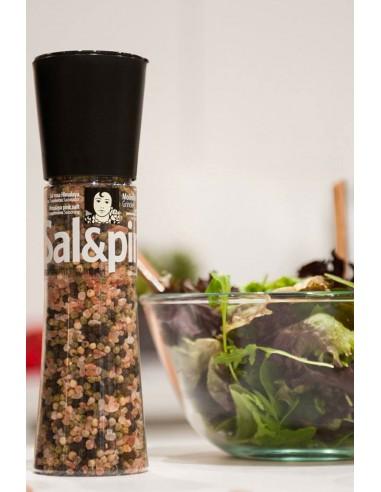 Pink Salt and Pepper Mix Grinder