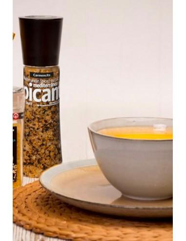 Mediterranean Spicy Salt Grinder