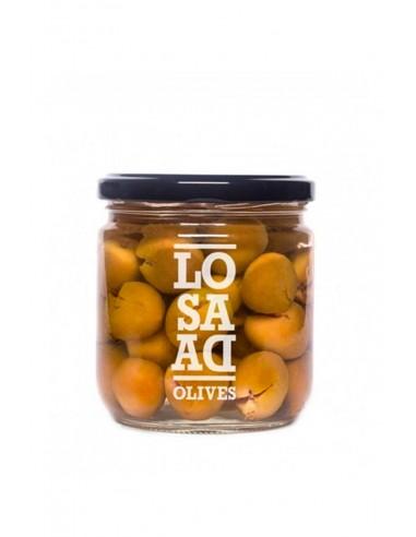 Pitted Natural Aloreña Olives by Losada
