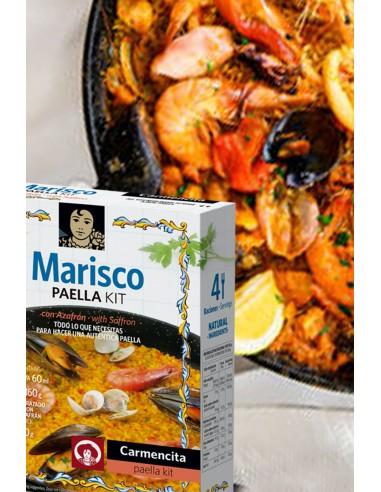 Paella Kit  100% Natural-Carmencita