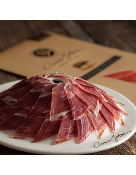 Hand Sliced Acorn-fed Iberico Shoulder Jabugo 3 oz CINCO JOTAS - 2