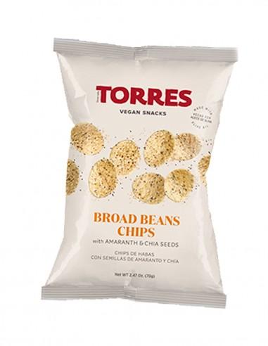 Chips de habas con semillas de...