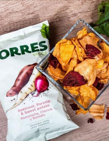 Torres Beetroot, parsnip and sweet...