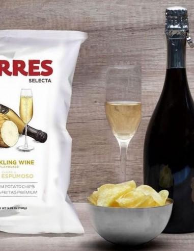 Torres Potato Chips Sparkling Wine