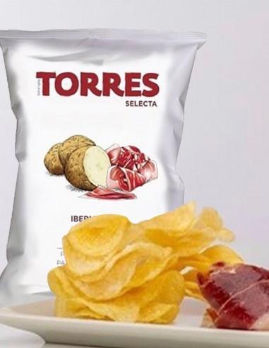Torres Patatas Fritas Selecta Jamón...