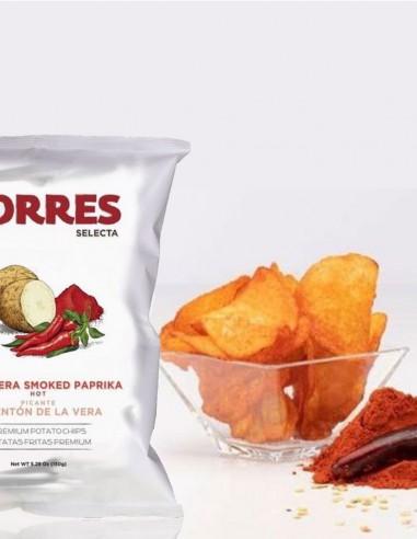 Torres Potato Chips Hot Smoked...