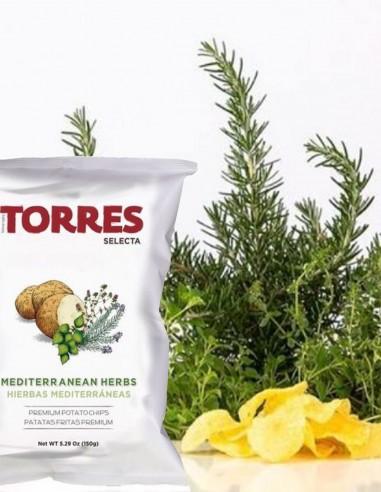 Torres Potato Chips Mediterranean Herbs