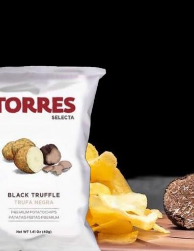 Torres Premium Potato Chips Black...