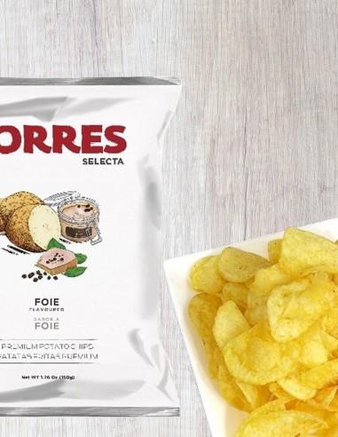 Potato Chips Foie Gras 50g by Torres