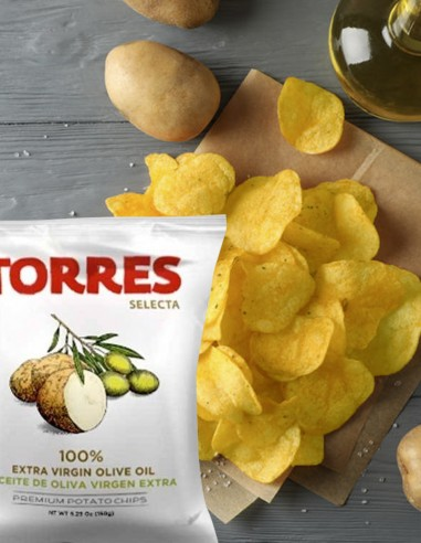 Potato Chips in Extra Virgin Olive...