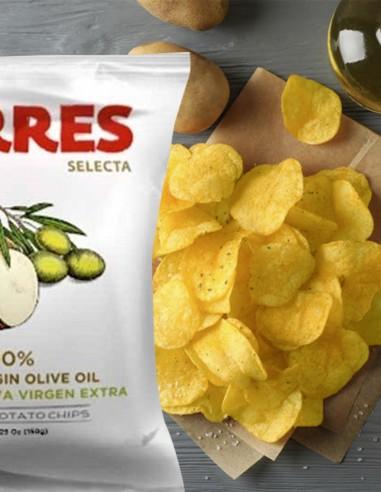 Torres Potato Chips in Extra Virgin...