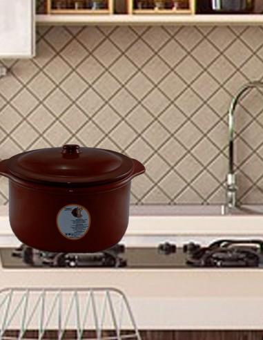 Cooking Pot Cuajadera Caoba Color 4L