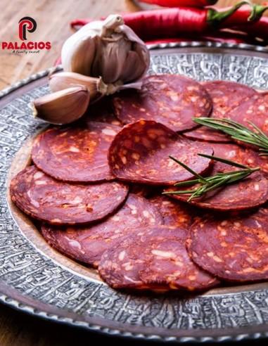 Palacios Hot Chorizo Sliced