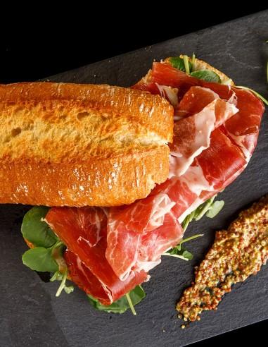 Sliced Serrano Ham 3.5oz Palacios