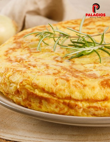 Potato Omelet w/onion - Spanish Omelets