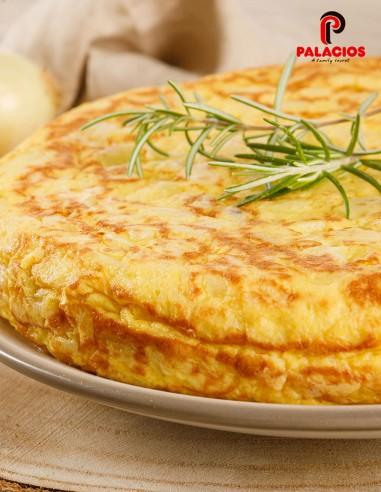 Tortilla de patata y cebolla -...