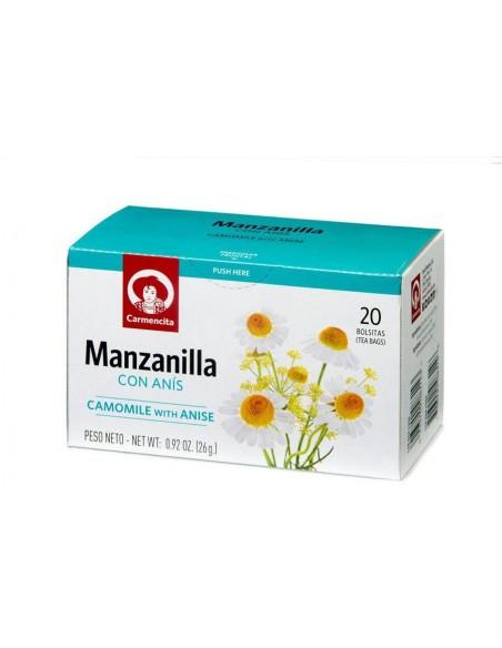 Manzanilla con Anís Infusion Carmencita - 1
