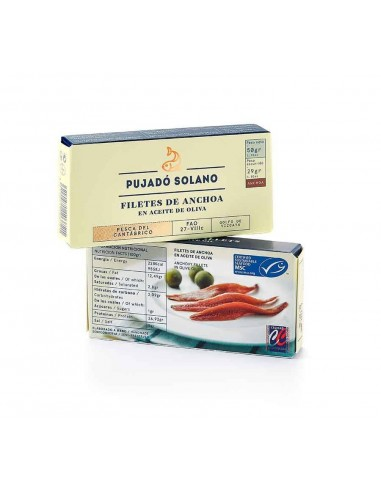 Cantabrian Sea Anchovy Fillets in Olive Oil