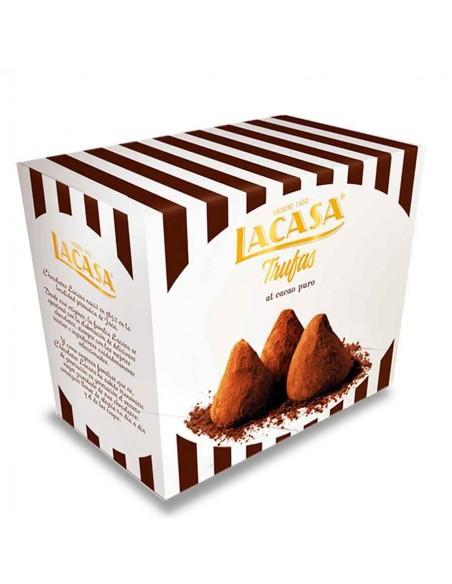 LA CASA Trufas al Cacao Puro 100g LA CASA - 1
