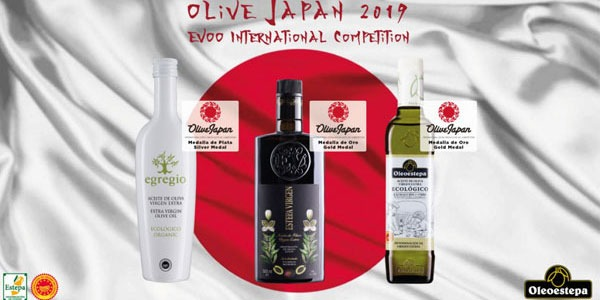 Olive Japan rewards the high quality of the Oleoestepa´s extra virgin olive oils